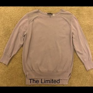 Purple 3/4 length sleeve